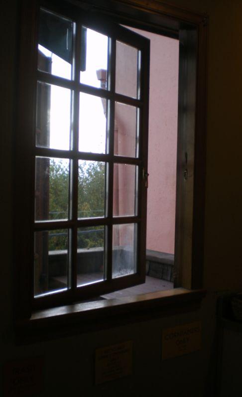 Balconey WindowUpstairs
