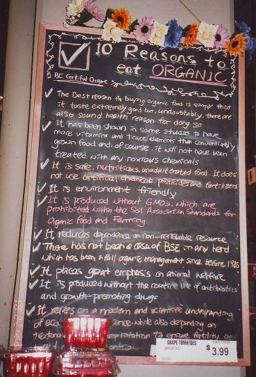 Kins Market OrganicSign
