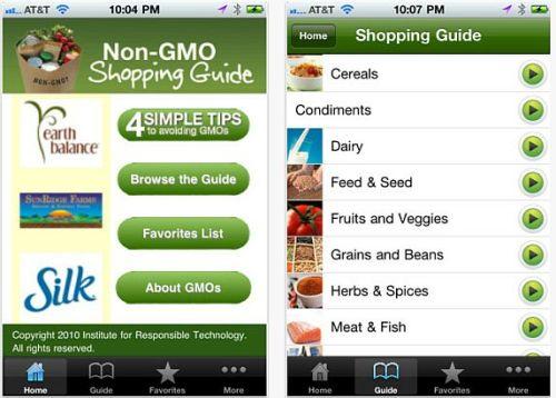 No GMO app
