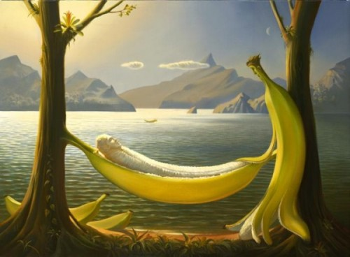 surealism-paintings-by-vladimir-kush-bananas