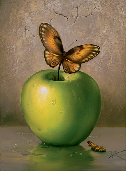 tumblr_m47hlmzzBi1rn5wg4o1_500 apple and butterfly