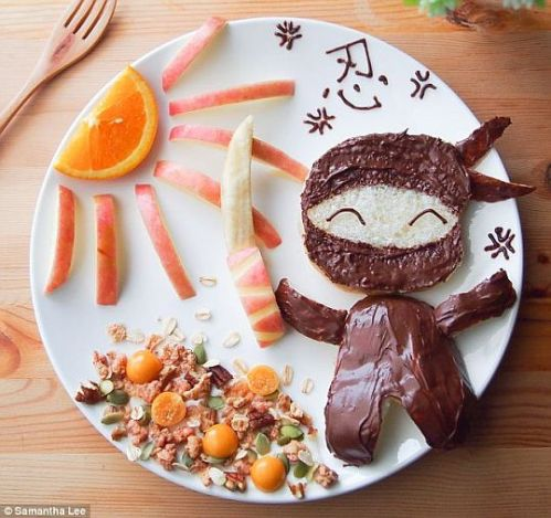 ninja food art samantha lee