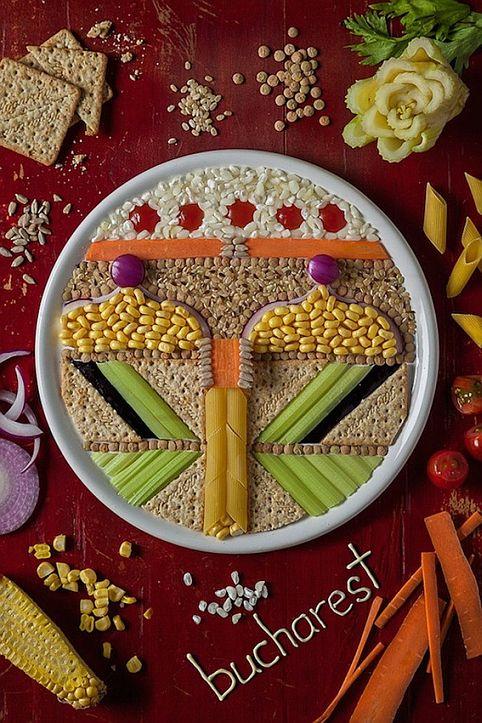 bucharest food art reduced